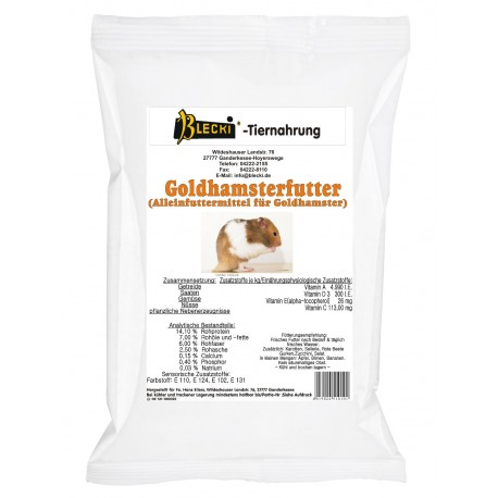 Goldhamsterfutter